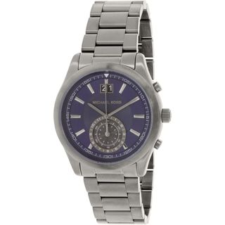 Michael Kors Men's MK8418 'Aiden' Grey Stainless Steel Watch