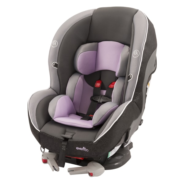 evenflo momentum dlx convertible car seat in lilac free shipping today 17398670. Black Bedroom Furniture Sets. Home Design Ideas