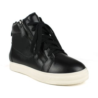 Fahrenheit Women's Kimi-01 Side Zipper Women's High Top Sneakers