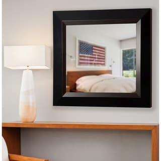 American Made Rayne Brown Lining Vanity Wall Mirror