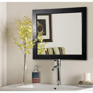 American Made Rayne Black Superior Vanity Wall Mirror