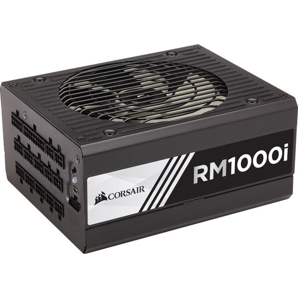 Corsair RMi Series RM1000i - 1000 Watt 80 PLUS Gold Certified Fully M