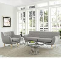 Remark 2-Piece Mid Century Living Room Sofa Set - 2Piece