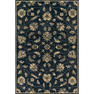 Hand-tufted Wilson Midnight Rug (9' x 12')
