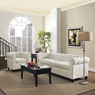 Earl 2-piece Fabric Living Room Set