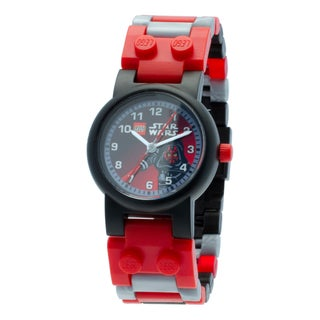 LEGO Star Wars Darth Maul Kid's Minifigure Interchangeable Links Watch