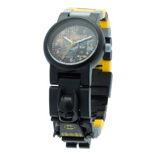 LEGO DC Super Heroes Batman Kid's Minifigure Watch with Interchangeable Links