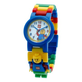 LEGO Classic Kid's Minifigure Interchangeable Links Watch