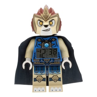 LEGO Chima Laval Kid's Moveable Minifigure Alarm Clock