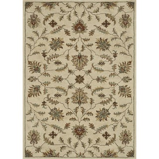 Hand-tufted Wilson Ivory Rug (9' x 12')