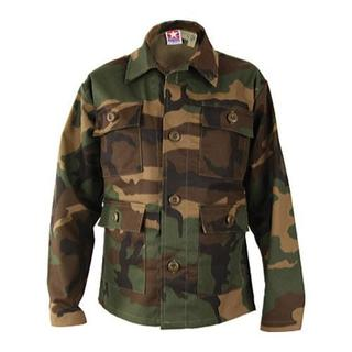 Children's Propper 4-pocket BDU Woodland Camo Coat
