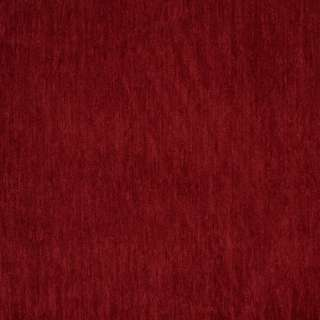 D788 Dark Red Durable Soft Chenille Upholstery Fabric