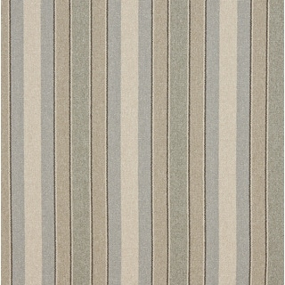 Blue/ Beige and Green Striped Washed Linen Look Upholstery Fabric