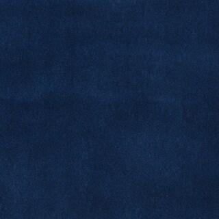 C857 Blue Solid Automotive Residential Commercial Upholstery Velvet