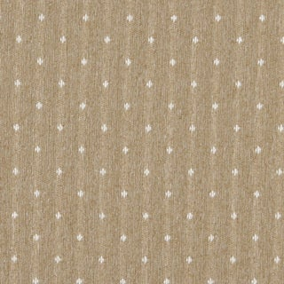 C617 Gold and Ivory Dotted Country Style Upholstery Fabric