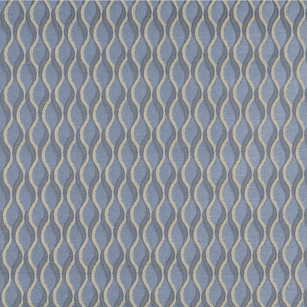C557 Blue And Gold Wavy Striped Durable Upholstery Fabric Free Shipping On Orders Over 45 10287049