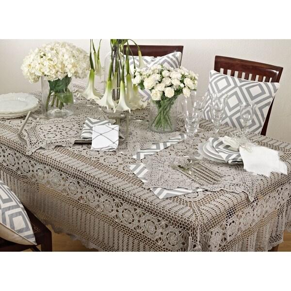 Crochet Lace Tablecloth