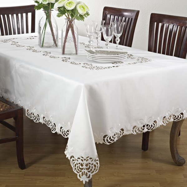 Cutwork Design Table Linens