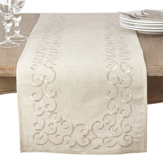 Embroidered Design Runner