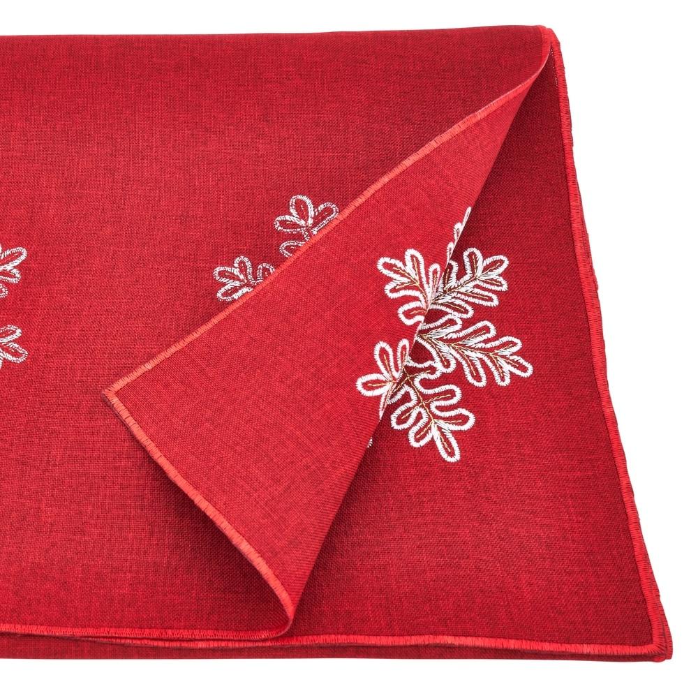 Shop Snowflake Design Runner - Overstock - 10287224