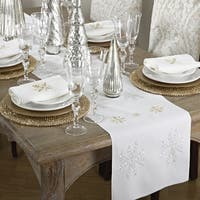 Snowflake Design Napkin (Set of 8)