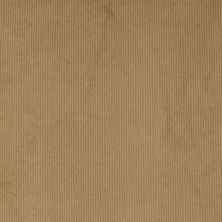 C189 Tan Thin Solid Corduroy Striped Upholstery Velvet Fabric