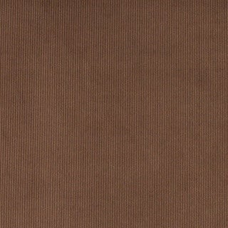 Brown Thin Solid Corduroy Striped Upholstery Velvet Fabric