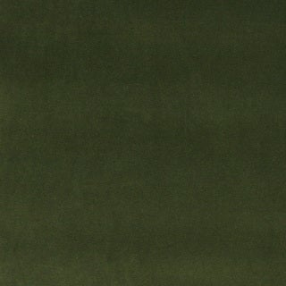A0000G Dark Green Authentic Cotton Velvet Upholstery Fabric (2 options available)