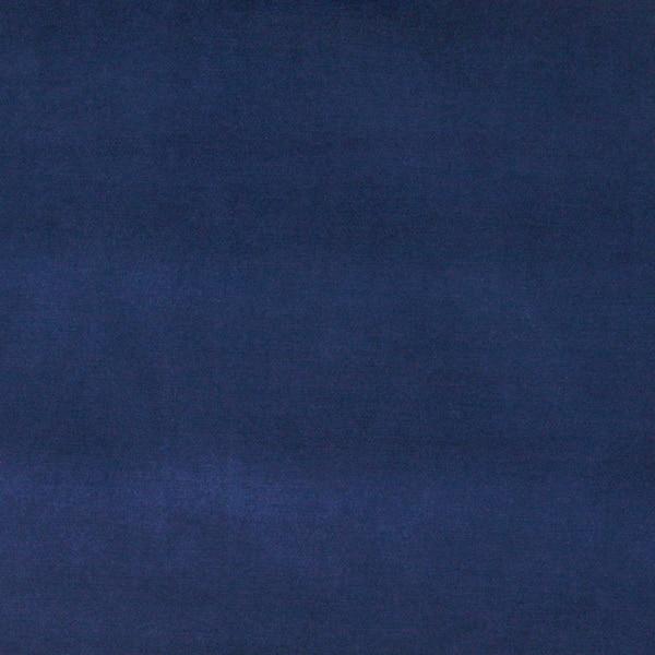A0001g Dark Blue Authentic Cotton Velvet Upholstery Fabric