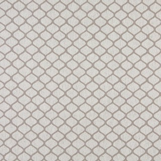 A0005F Grey Off White Modern Geometric Upholstery Fabric