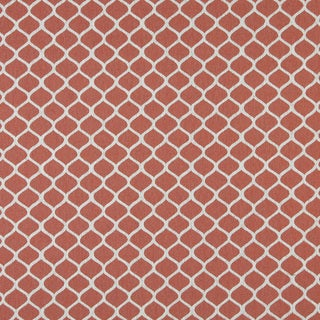 A0008C Persimmon Off White Modern Geometric Upholstery Fabric