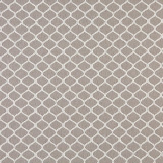 A0008F Grey Off White Modern Geometric Upholstery Fabric