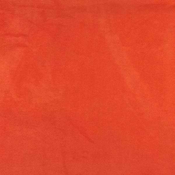 C069 Orange Ultra Durable Microsuede Upholstery Grade Fabric Free