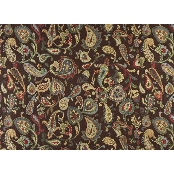 Shop A0021a Blue Red Green Yellow Brown Floral Contemporary