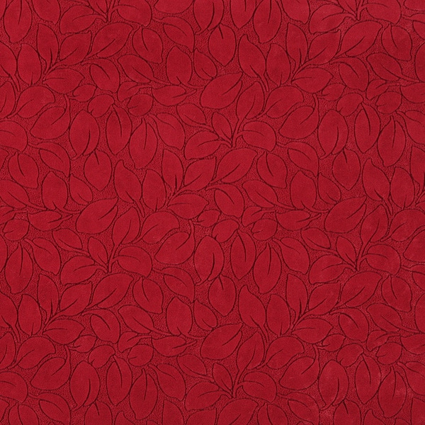 B868 Red Foliage Leaves Durable Microfiber Upholstery Fabric Free Shipping On Orders Over 45 10287860
