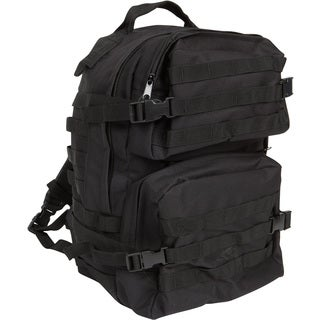 Modern Warrior High Quality ACU Military Black Backpack