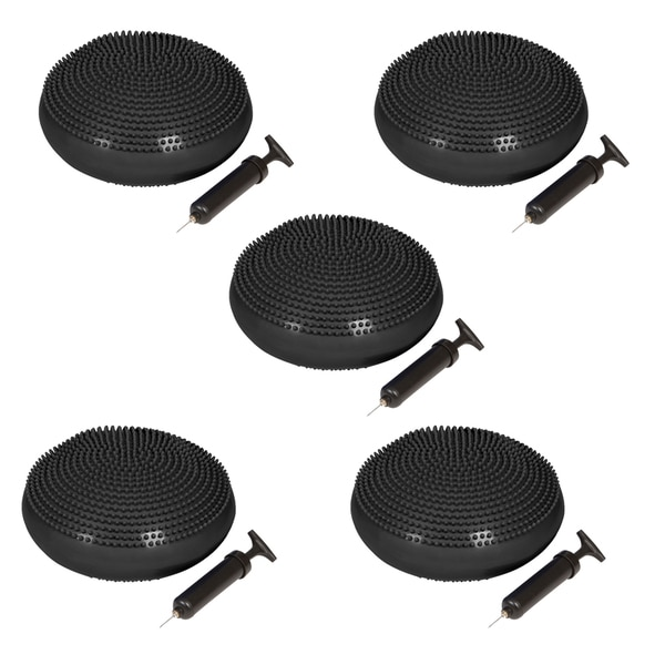 Trademark Innovations 13-inch Fitness and Balance Disc Seat (set of 5)