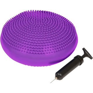 Trademark Innovations Purple Fitness and Balance Disc Seat