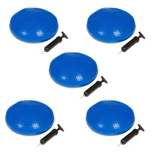 Trademark Innovations 13-inch Diameter Fitness and Balance Disc Seat (set of 5)