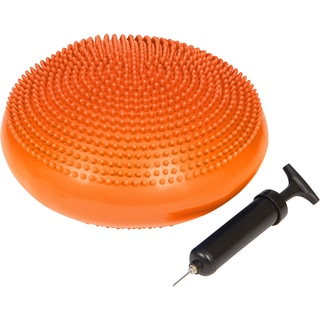 Trademark Innovations Orange Fitness and Balance Disc Seat