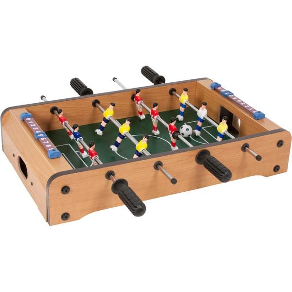 Trademark Innovations Table Top Mini Foosball Game Table Top Mini Foosball Game