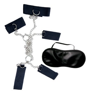 Dominant Submissive Collection Cuffs and Collar (Set of 4)