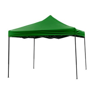 10-foot x 10-foot in Dark Green Portable and Lightweight Collapsible Canopy