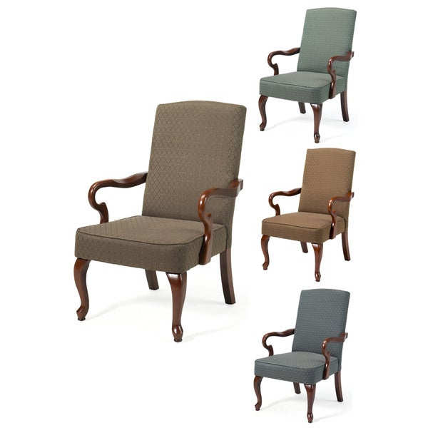 Superbe Copper Grove Catamount Gooseneck Arm Chair