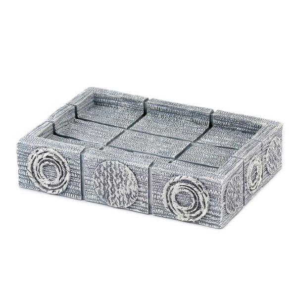 Galaxy Silver Resin Soap Dish