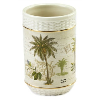 Colony Palm Multi-colored Ceramic Tumbler