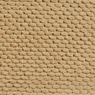A630 Tan Soft Textured Plush Woven Upholstery Chenille Velvet Fabric