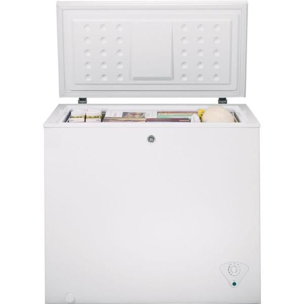 GE 7-cubic Feet Manual Defrost Chest Freezer - Free