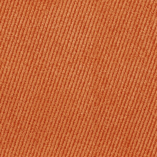 Bright Orange Contemporary Soft Woven Velvet Upholstery Fabric