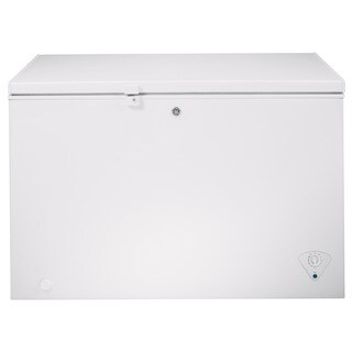 GE Energy Star 10.6-cubic Feet Manual Defrost Chest Freezer